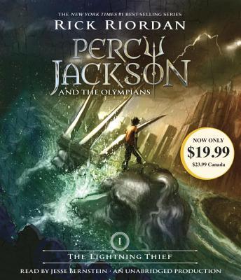 [CD] The Lightning Thief By Riordan, Rick/ Bernstein, Jesse (NRT)